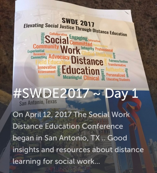 research on distance education in social work