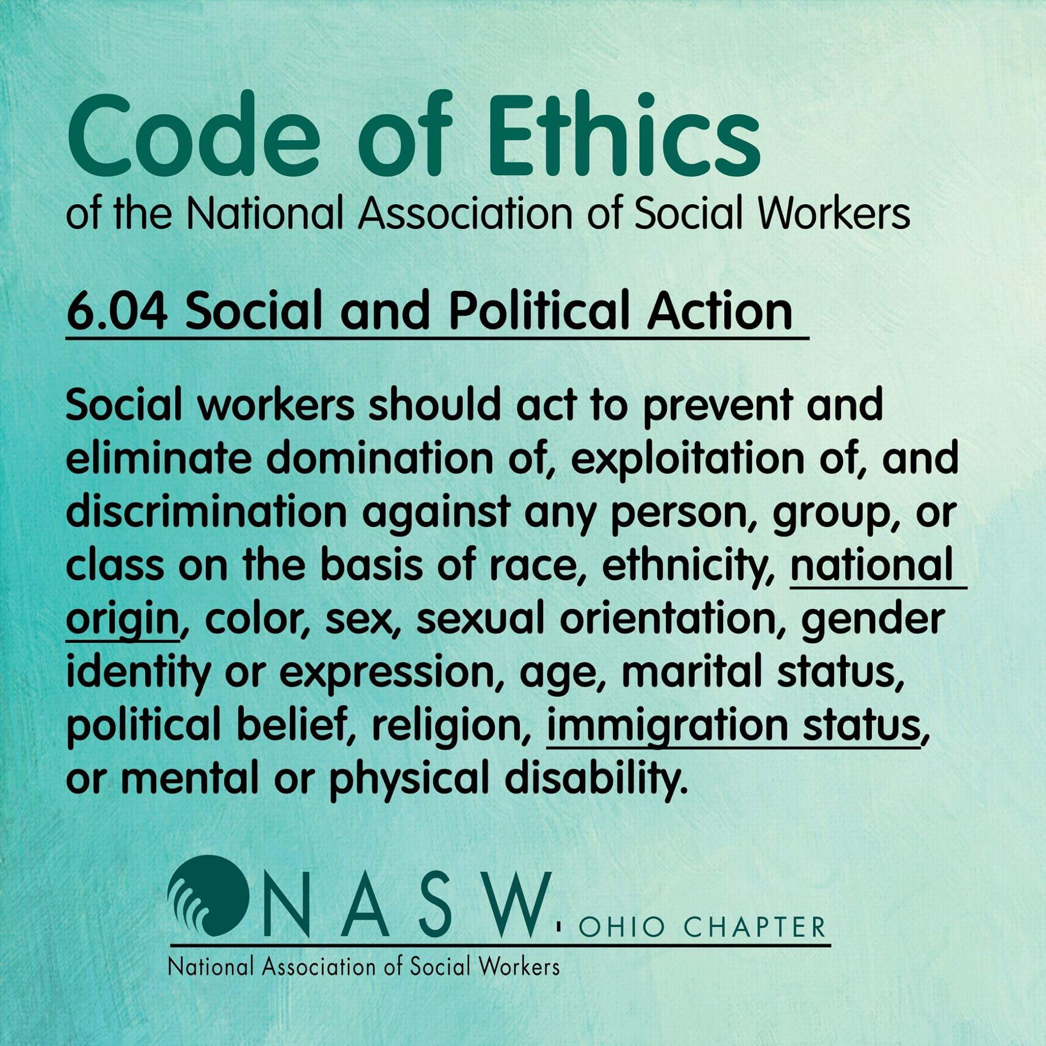 photo relating to Nasw Code of Ethics Printable identify social energy main values -